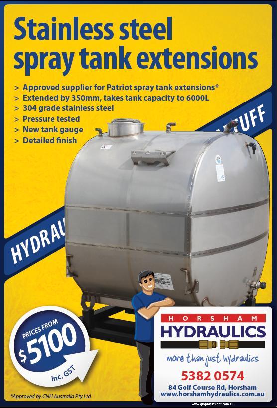 Spray Tank Extension